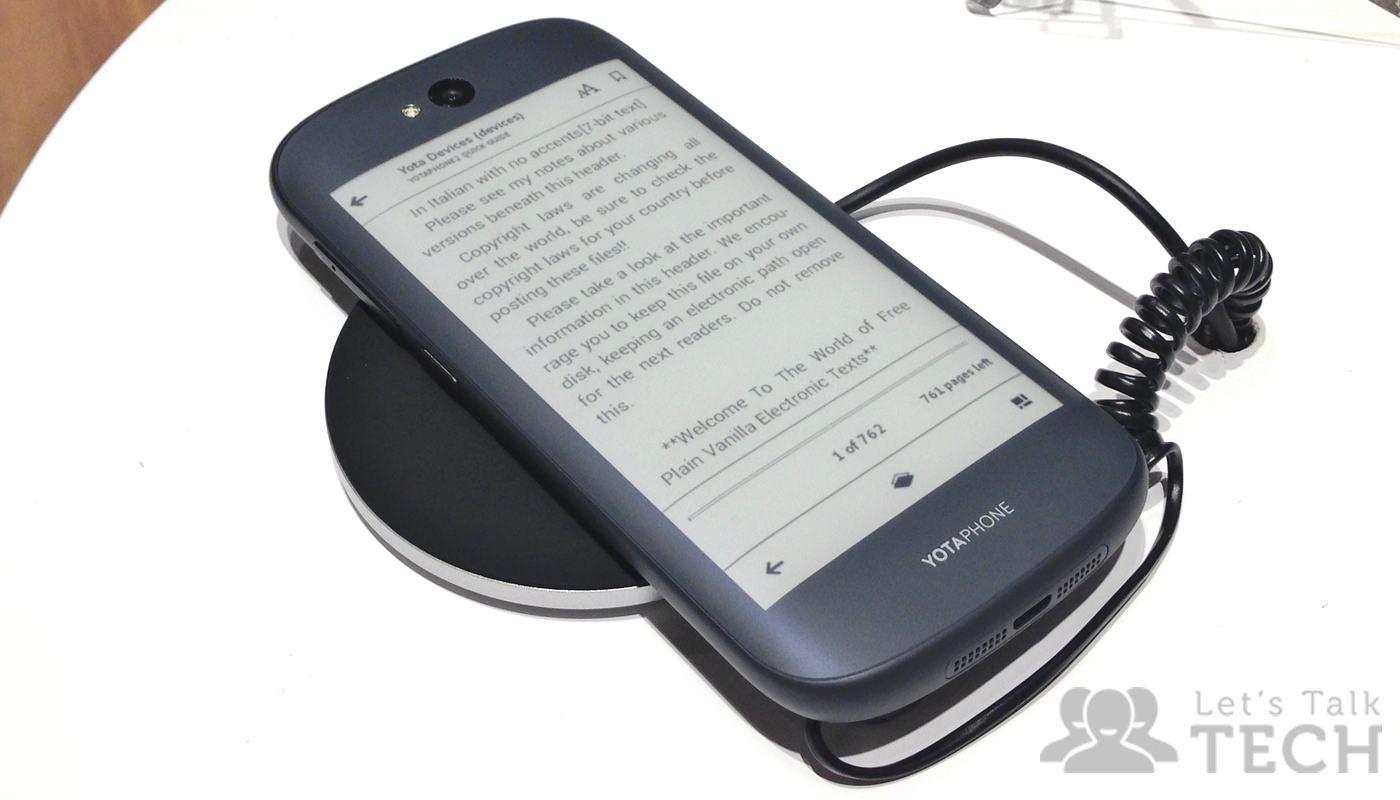 bel design selezione speciale di dettagli per YotaPhone 2 Dual-display Smartphone: First Impressions ...