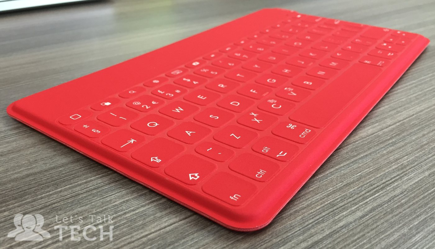 Logitech Keys-to-Go keyboard in red